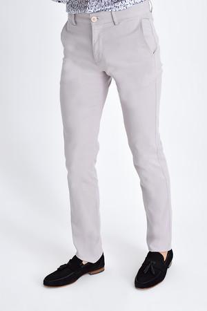Gri Regular Fit Spor Pantolon - Thumbnail