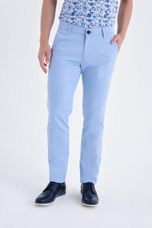 Hatemoğlu - Desenli Regular Mavi Pantolon