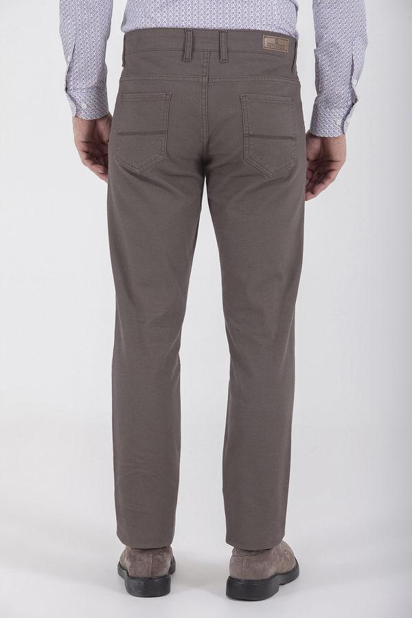 Desenli Regular Vizon Pantolon