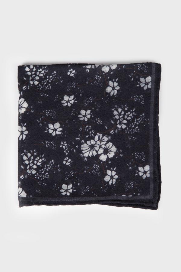 Hatem Saykı - Desenli Siyah Mendil (1)