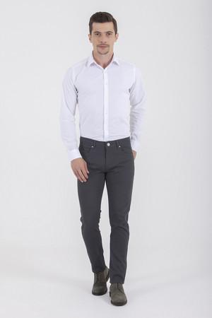 Hatem Saykı - Gri Slim Fit Spor Pantolon (1)