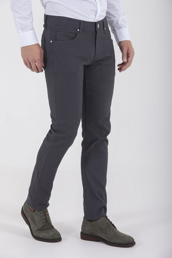 Gri Slim Fit Spor Pantolon