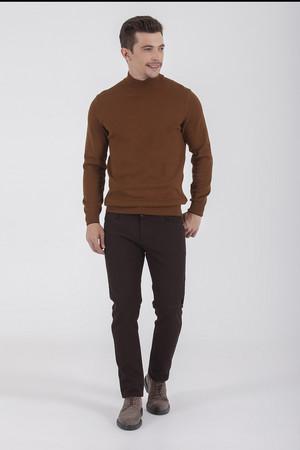 Hatem Saykı - Kahverengi Slim Fit Spor Pantolon (1)