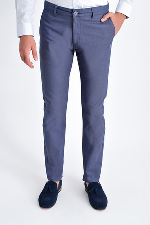 HTML - Lacivert Slim Fit Spor Pantolon
