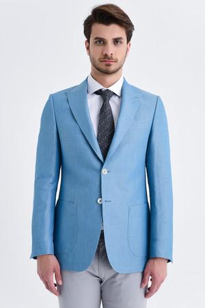 Mavi Slim Fit Ceket - Thumbnail