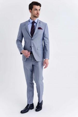 Hatemoğlu - Mavi Slim Fit Takım Elbise (1)
