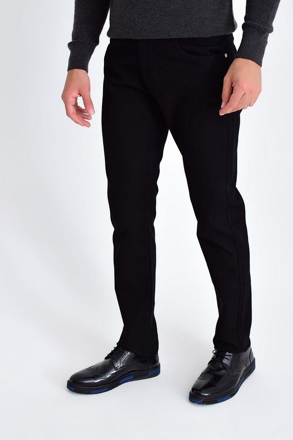 Hatem Saykı - Siyah Slim Fit Spor Pantolon
