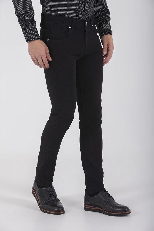 Siyah Slim Fit Kot Pantolon