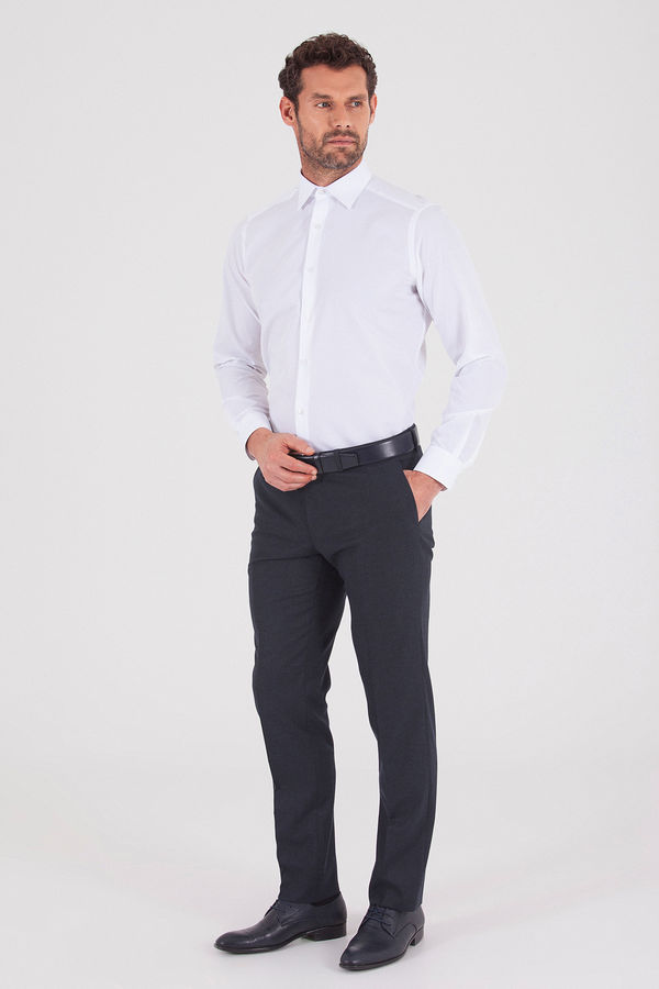 Lacivert Slim Fit Kumaş Pantolon