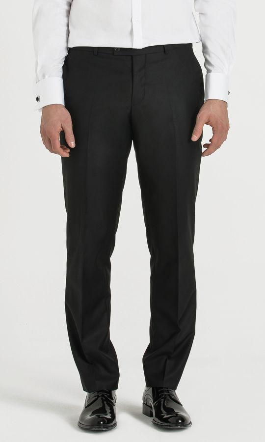 Hatemoğlu - Siyah Slim Fit Kumaş Pantolon