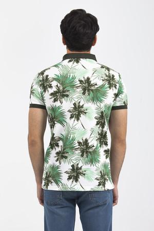 Ekru Baskılı T-shirt - Thumbnail