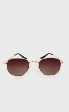 Hatem Saykı - Altın Kahverengi Güneş Gözlüğü