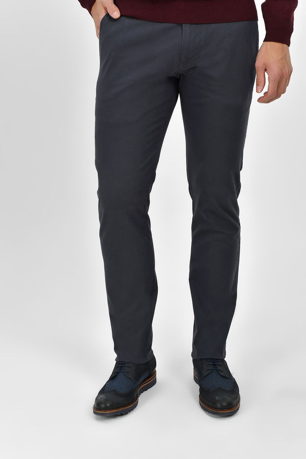 HTML - Gri Slim Fit Pantolon