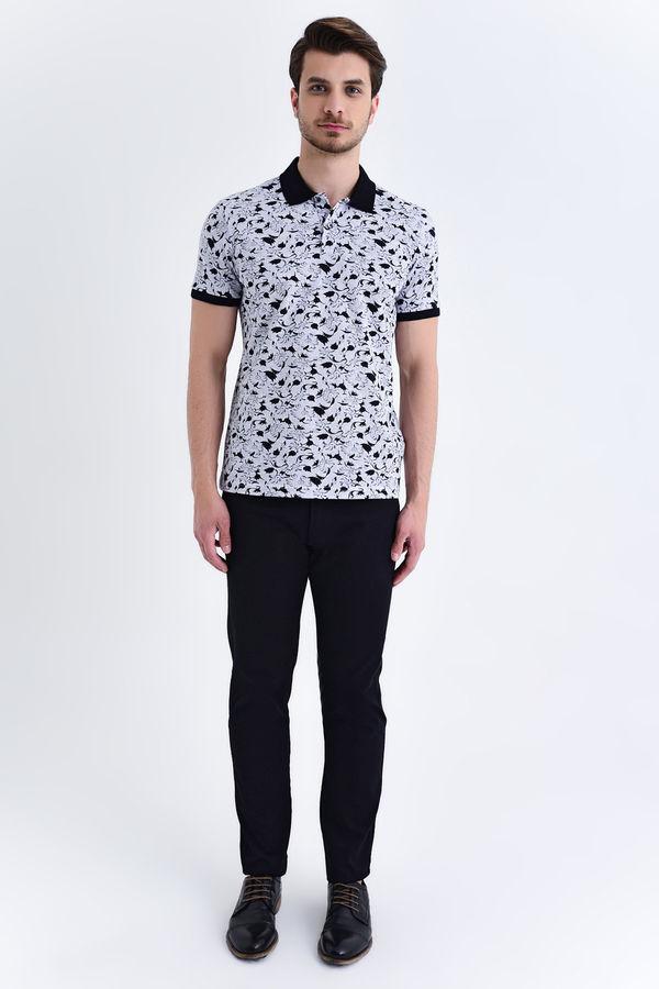 HTML - Gri Baskılı Regular T-shirt (1)