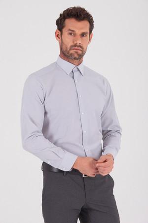 Hatemoğlu - Gri Regular Gömlek