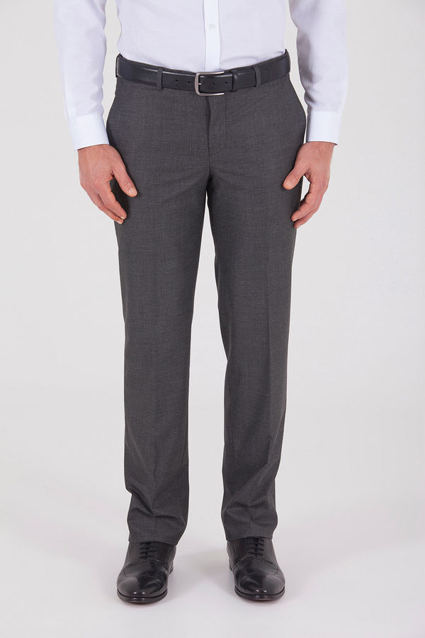 HATEMOĞLU - Gri Desenli Dinamik Pantolon