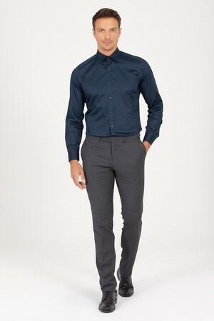 Hatem Saykı - Antrasit Slim Fit Kumaş Pantolon (1)