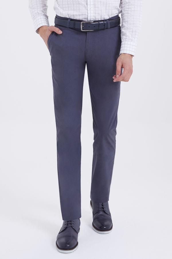 HTML - Gri Slim Fit Pantolon