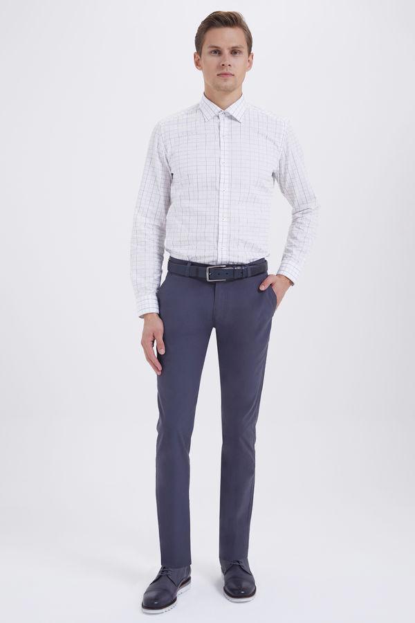 HTML - Gri Slim Fit Pantolon (1)