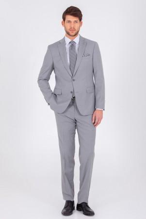 Hatem Saykı - Gri Slim Fit Takım Elbise (1)