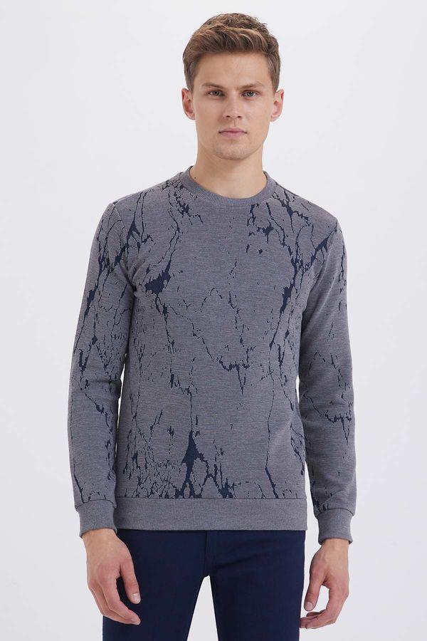 HTML - Gri Slim Fit Sweatshirt