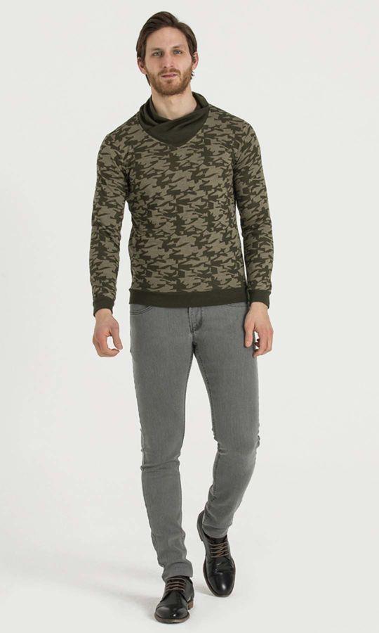 HTML - Haki - Haki Sweatshirt (1)