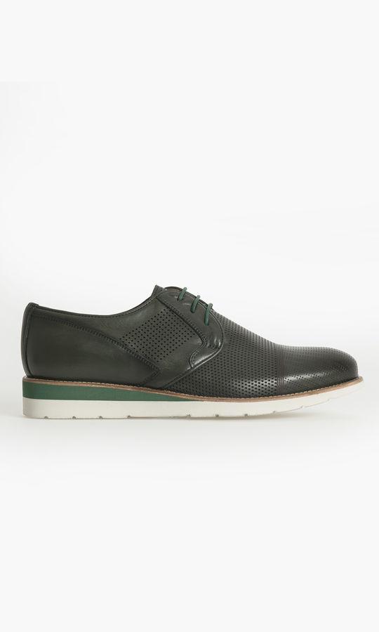 Hatem Saykı - Hakiki Deri Haki Günlük Ayakkabı