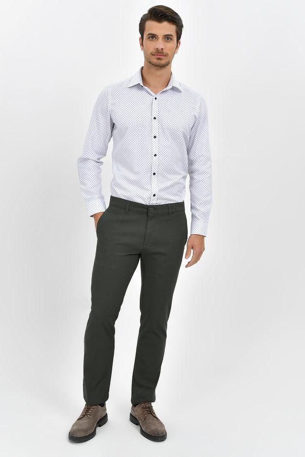 Hatemoğlu - Haki Desenli Regular Pantolon (1)