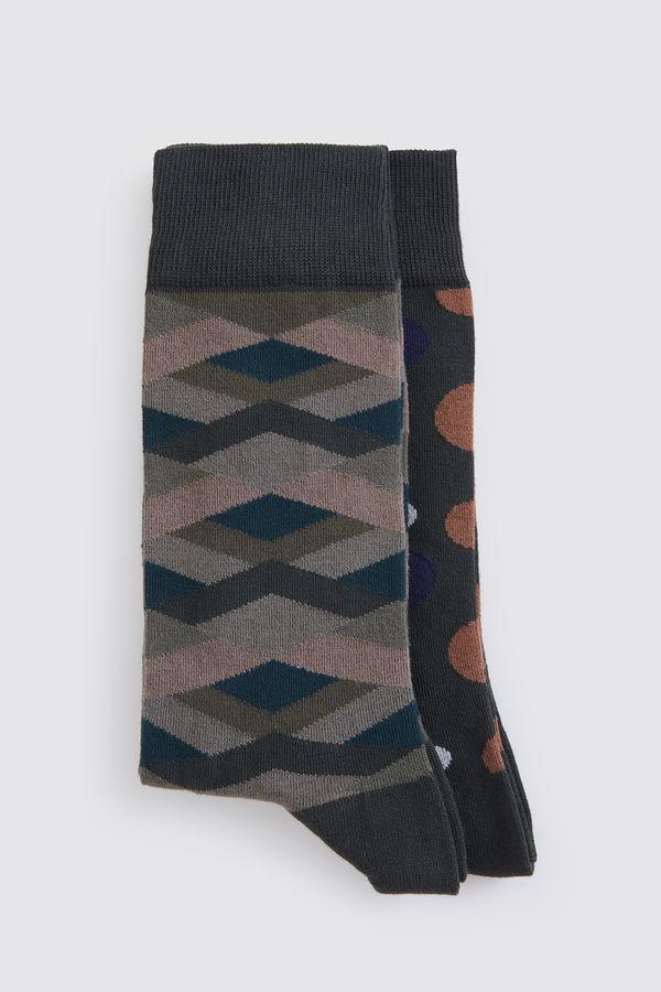 Hatem Saykı - Haki 2'li Çorap