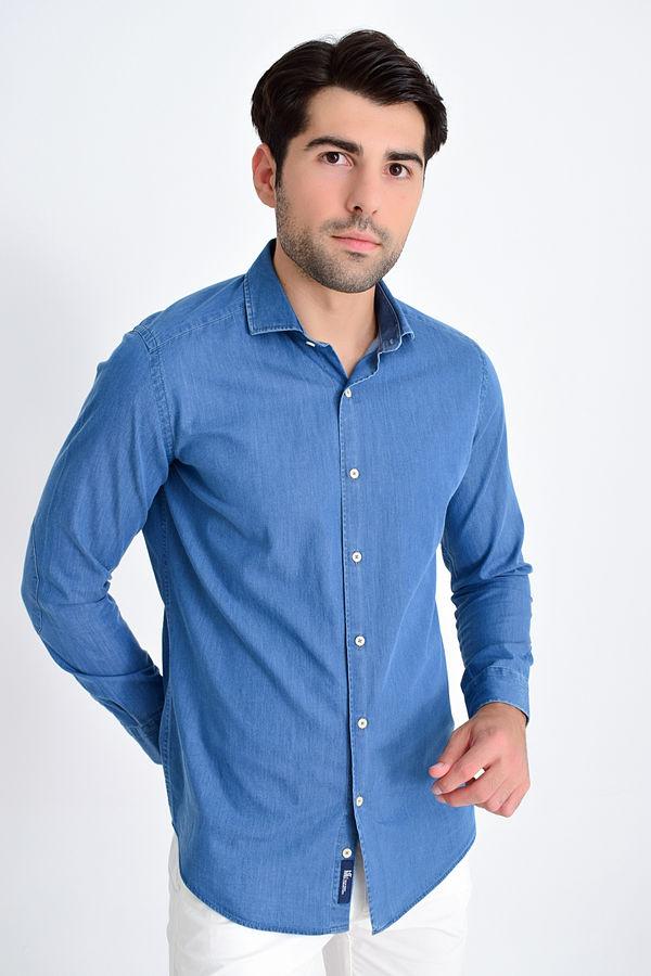HTML - Indigo Slim Fit Gömlek