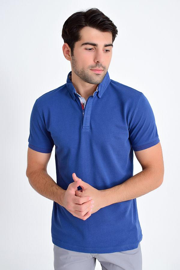 Indigo Baskılı Regular T-shirt