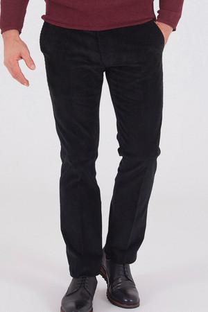 Hatemoğlu - Kadife Siyah Pantolon