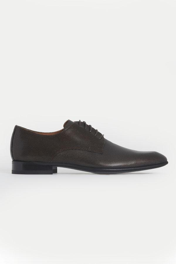 Hatemoğlu - Hakiki Deri Kahverengi Klasik Ayakkabı