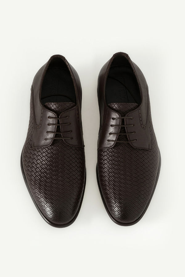 Hakiki Deri Kahverengi Klasik Ayakkabı