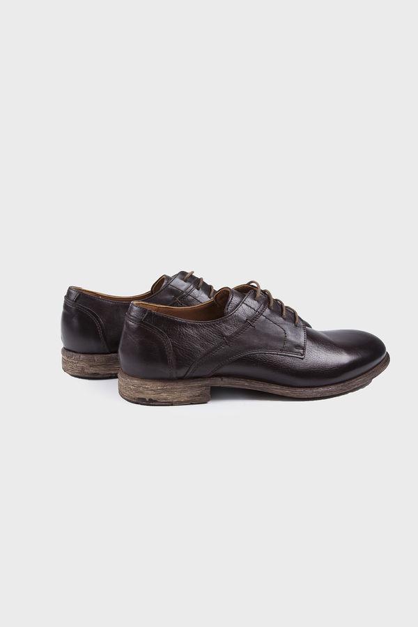 Hatem Saykı - Kahverengi Klasik Oxford Ayakkabı (1)