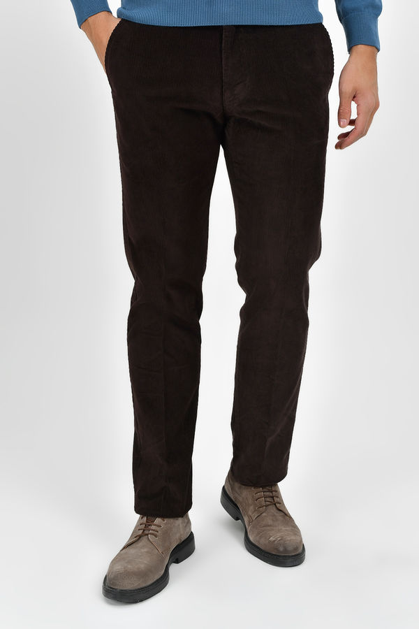 HATEMOĞLU - Kahverengi Regular Pantolon