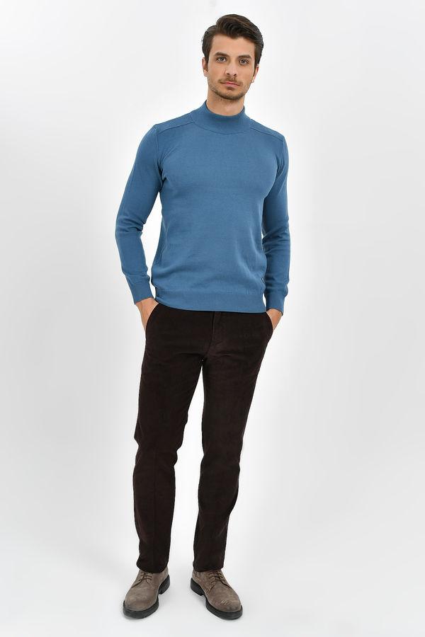 HATEMOĞLU - Kahverengi Regular Pantolon (1)