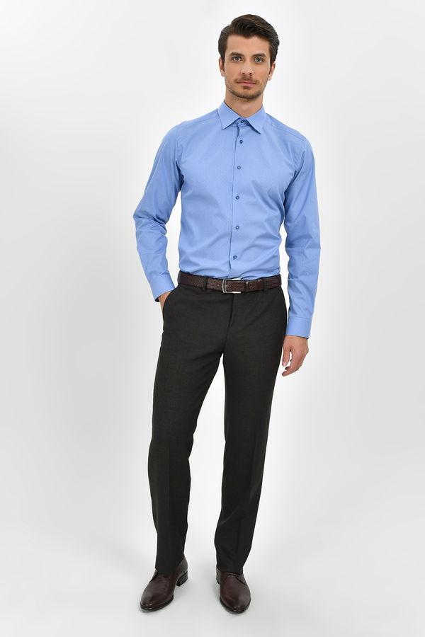 HATEMOĞLU - Kahverengi Desenli Dinamik Pantolon (1)