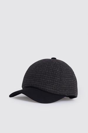 Desenli Kahverengi Şapka - Thumbnail