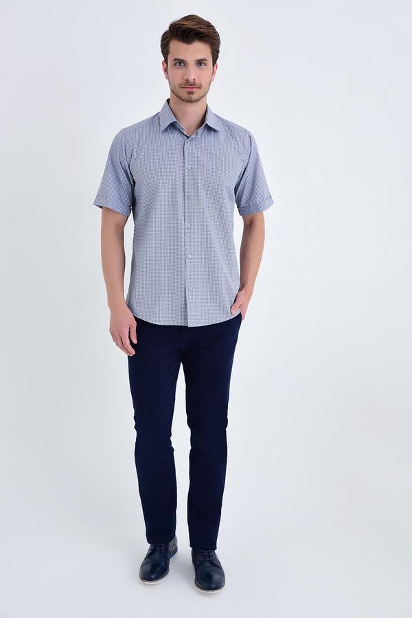 Hatemoğlu - Kareli Klasik Haki Gömlek (1)