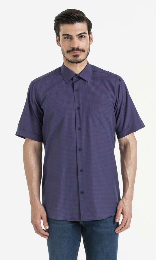 Hatemoğlu - Kareli Klasik Kırmızı Gömlek