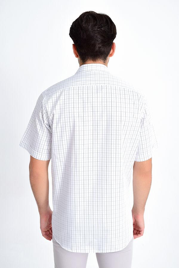 Kareli Klasik Siyah Gömlek