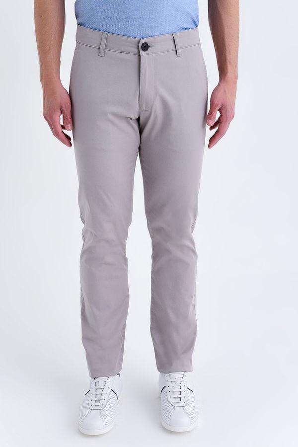 HATEMOĞLU - Bej Regular Pantolon