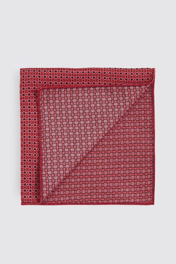 Hatemoğlu - Desenli Kırmızı Mendil