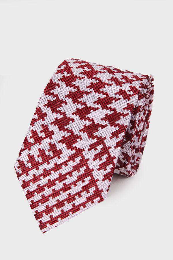 Hatemoğlu - Kırmızı Deseli Kravat