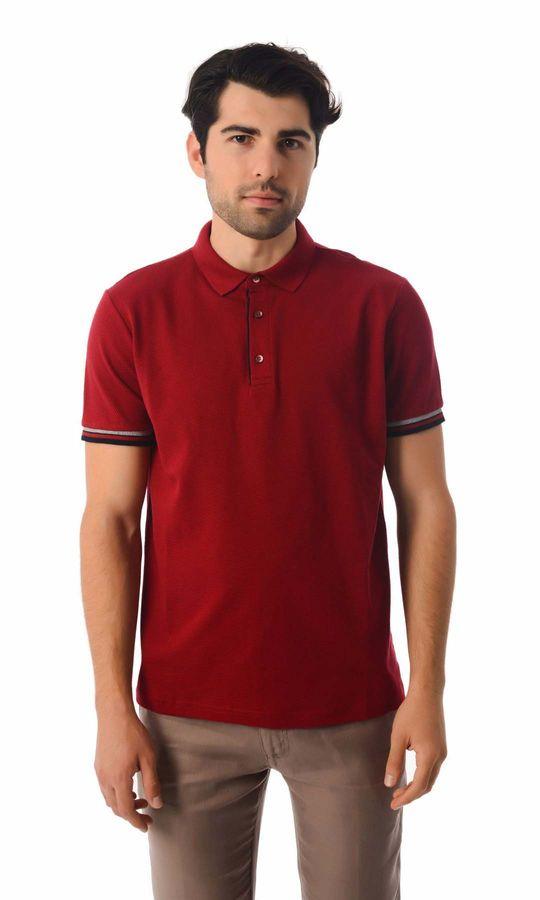 HATEMOĞLU - Kırmızı - Desenli Regular T-shirt
