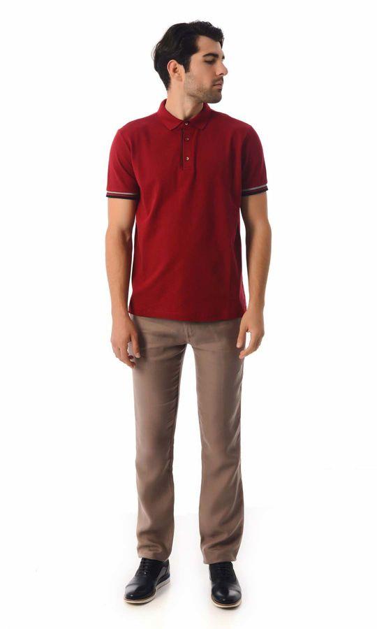 HATEMOĞLU - Kırmızı - Desenli Regular T-shirt (1)