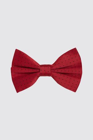 HTML - Desenli Kırmızı Papyon