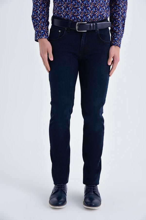 HATEM SAYKI - Lacivert Regular Pantolon