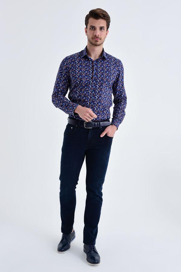 HATEM SAYKI - Lacivert Regular Pantolon (1)